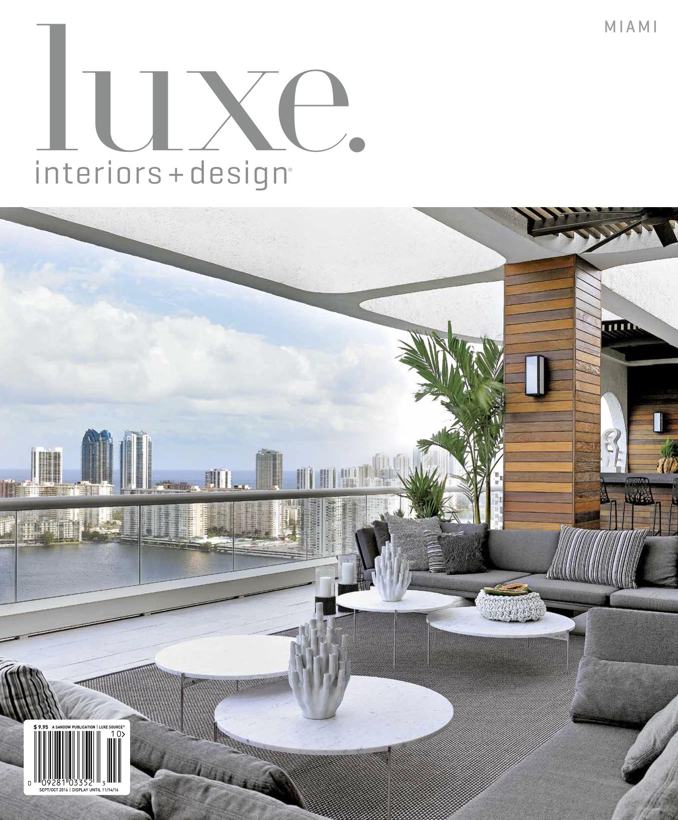 Miami Luxe Magazine Features Rotsen Furniture